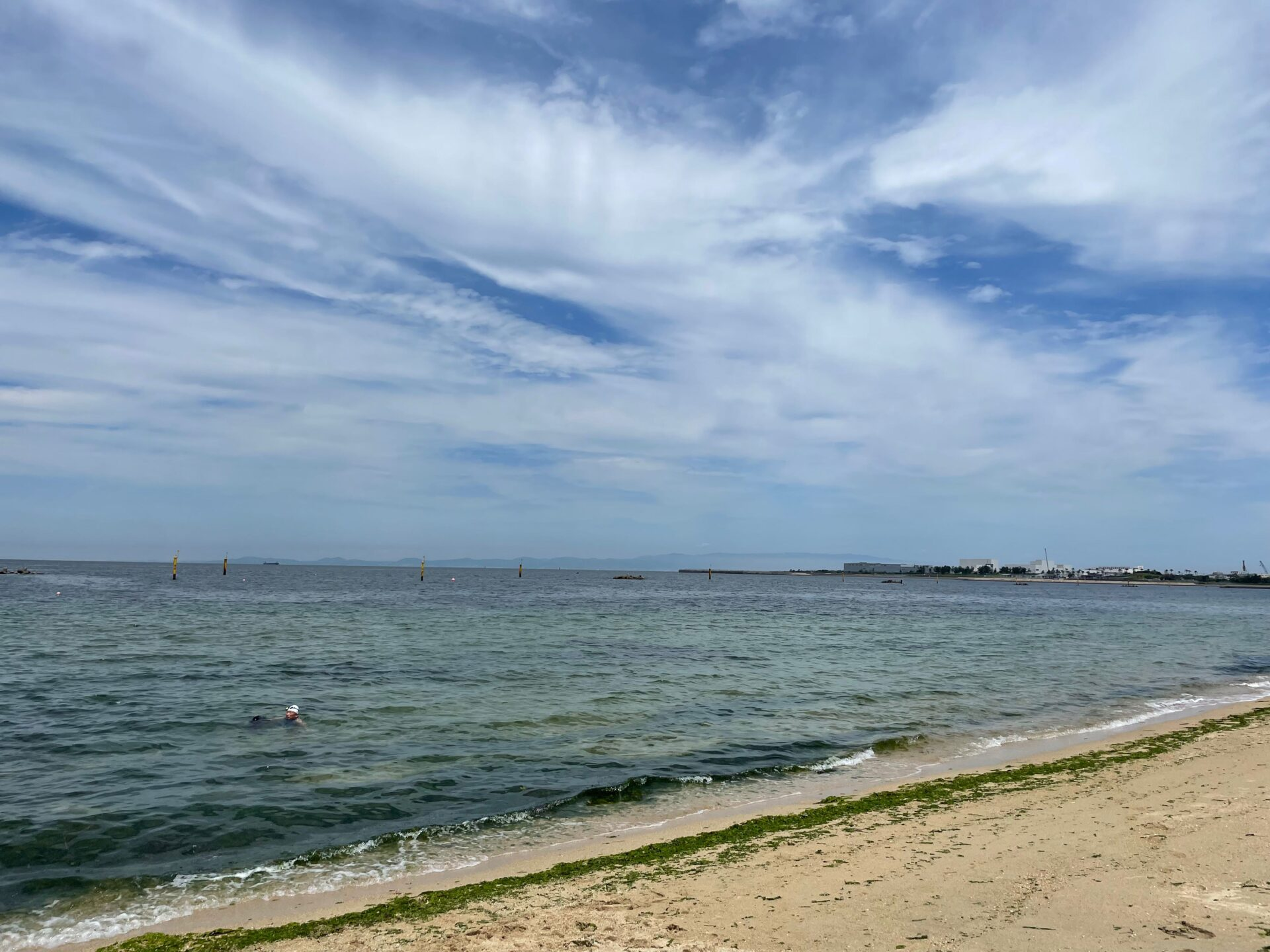 2021.6.6 二色の浜 OWS練習 海 空