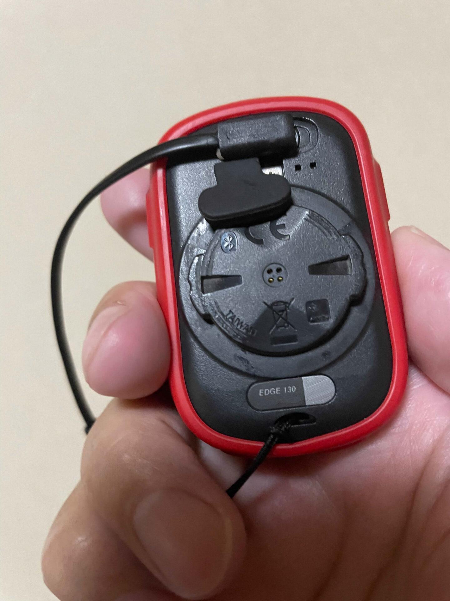 GAMIN EDGE L字端子 USB 充電