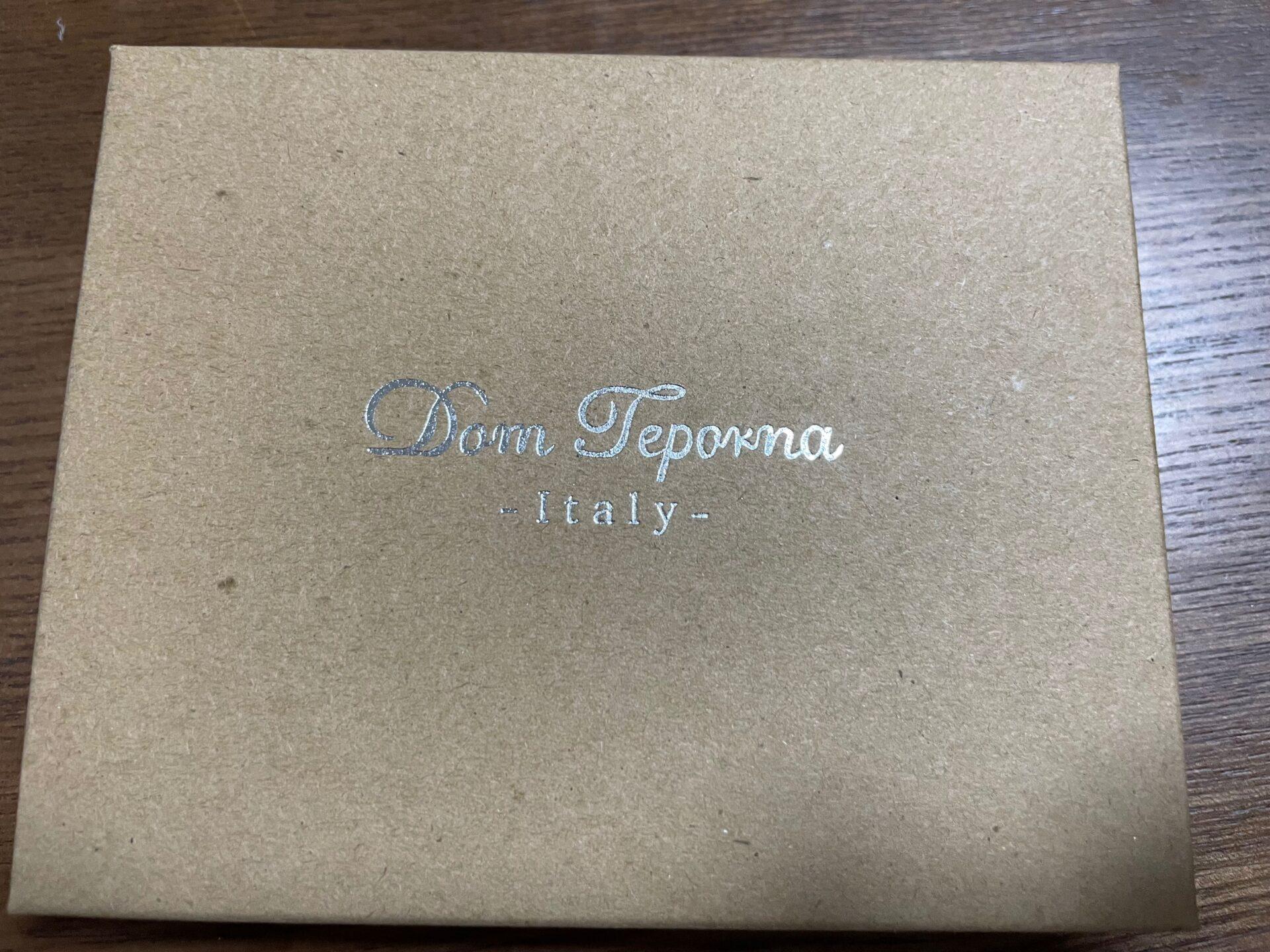 [Dom Teporna] ミニ財布 カードケース 箱