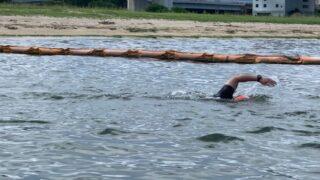 二色の浜 ランニングとOWS練習会