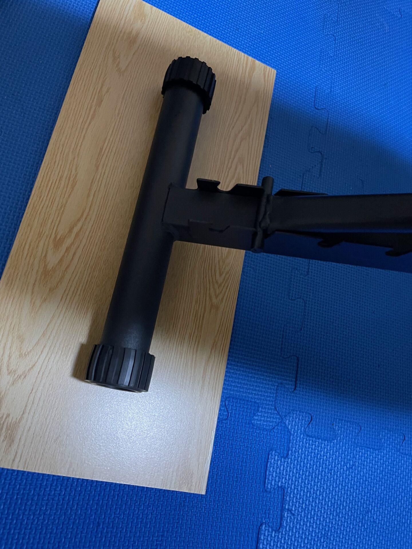 宅トレ トレーニングベンチ 組み立て方法 木材 安定